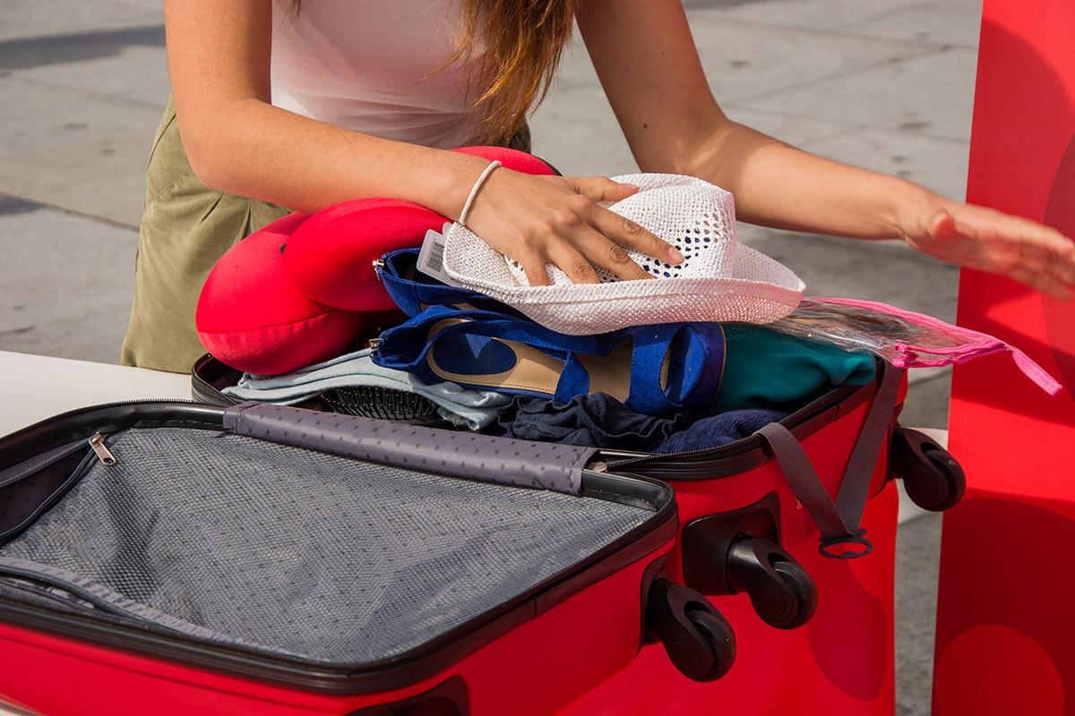 Em quanto tempo faz a sua mala?